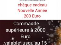 L'ANNEE 2021 COMMENCE BIEN - MVM VOUS OFFRE 1 CHEQUE CADEAU DE 200 EURO