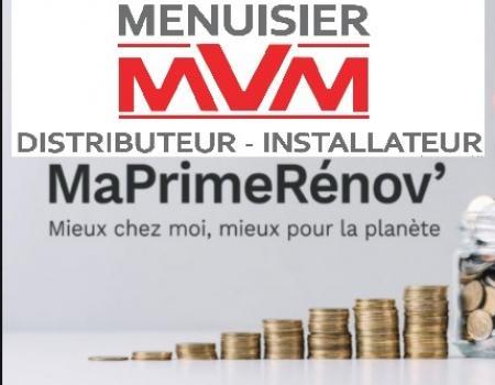 MVM entreprise RGE A LYON -  Est là pour vous faire bénéficier de MaPrimeRénov'