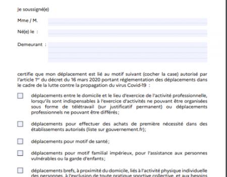 COVID-19 : LA FRANCE EN ETAT D'URGENCE SANITAIRE- MVM SOLIDAIRE DES MESURES A ADOPTER