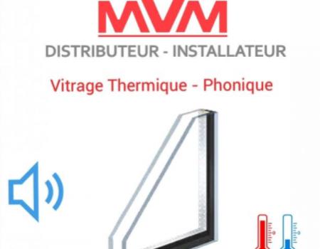 VITRAGE THERMIQUE / PHONIQUE - POUR VOTRE CHANGEMENT DE FENETRE PVC A LYON