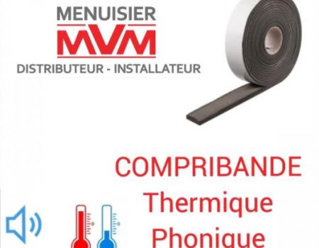 LE COMPRIBANDE THERMIQUE / PHONIQUE PAR MVM MENUISIER, FENÊTRIER LYONNAIS